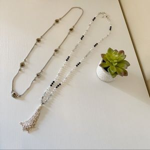 White House Black Market Long Necklace Bundle